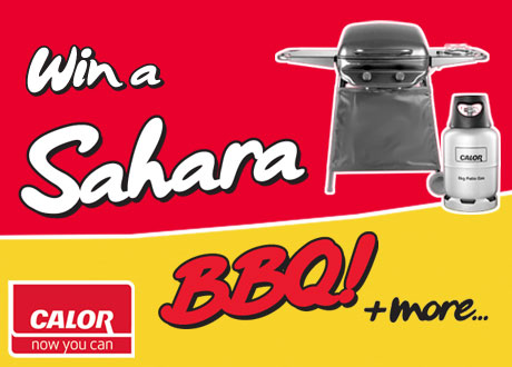 Win a Sahara BBQ with Irish Pride & Calor Gas