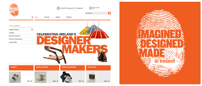 Give Irish Craft Website Overhauled