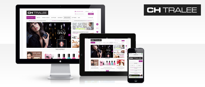 Responsive eCommerce Website launched for CH Tralee