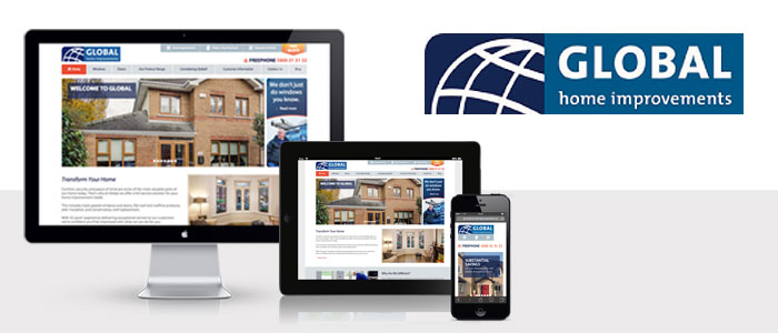 Responsive eBusiness Website launched for Global Home Improvements