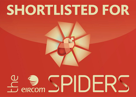 Framework Design Shorlisted for 3 Golden Spider Awards