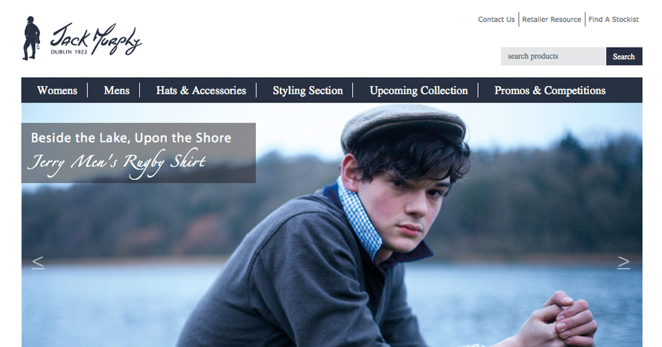 Jack Murphy - Website Design