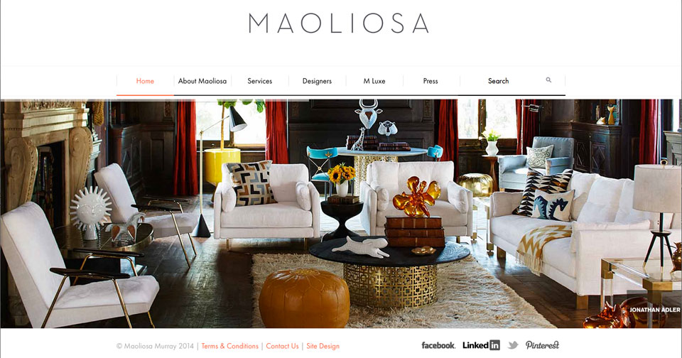 Maoliosa - Website Design, CMS