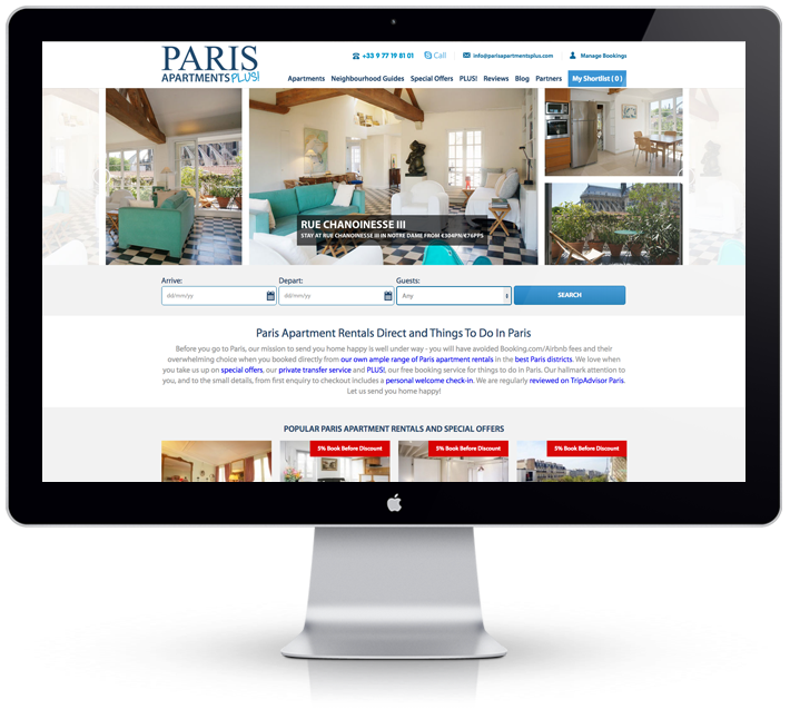 Paris Apartments Plus