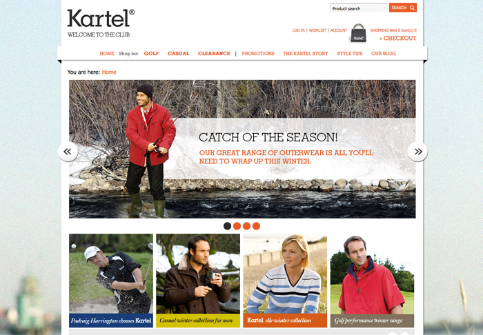 eCommerce Site Launched for Kartel