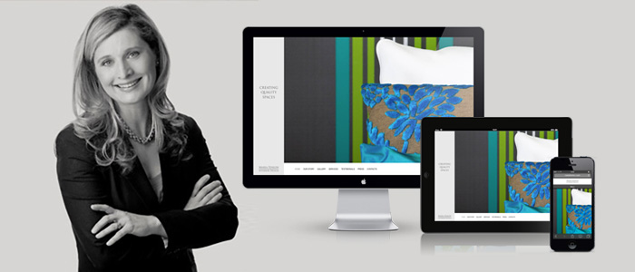 Responsive Portfolio Website launched for Maria Fenlon Interior Design