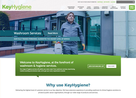 Consumer focused Website launched for KeyHygiene