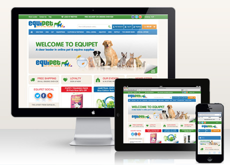 Ecommerce Website launched for Equipet