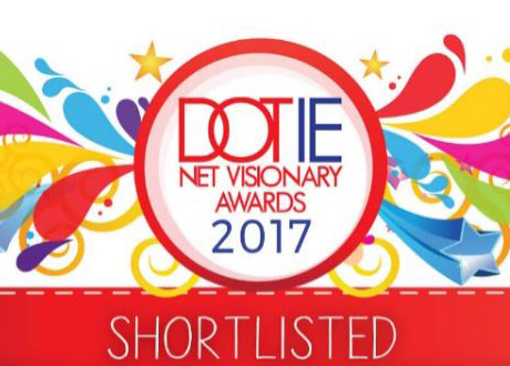 We've been shortlisted in the DOT IE Net Visionary Awards!