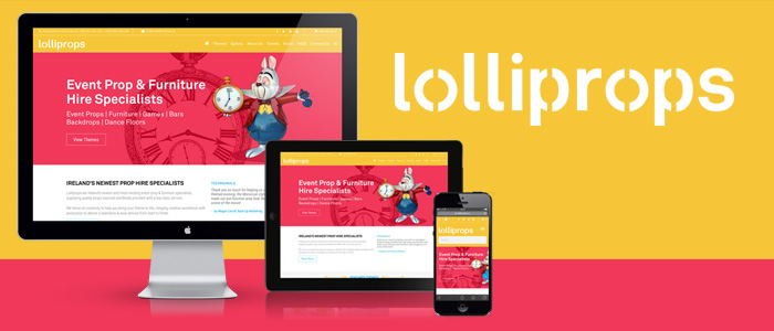 Website Launched for Lolliprops Prop Hire