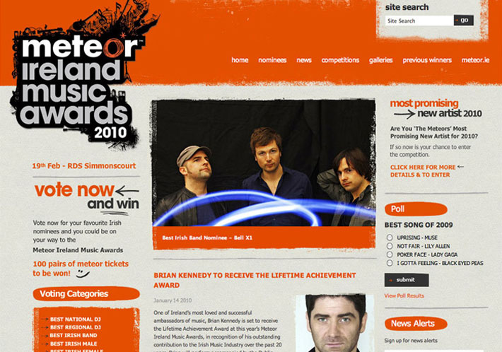 Meteor Music Awards Case Study